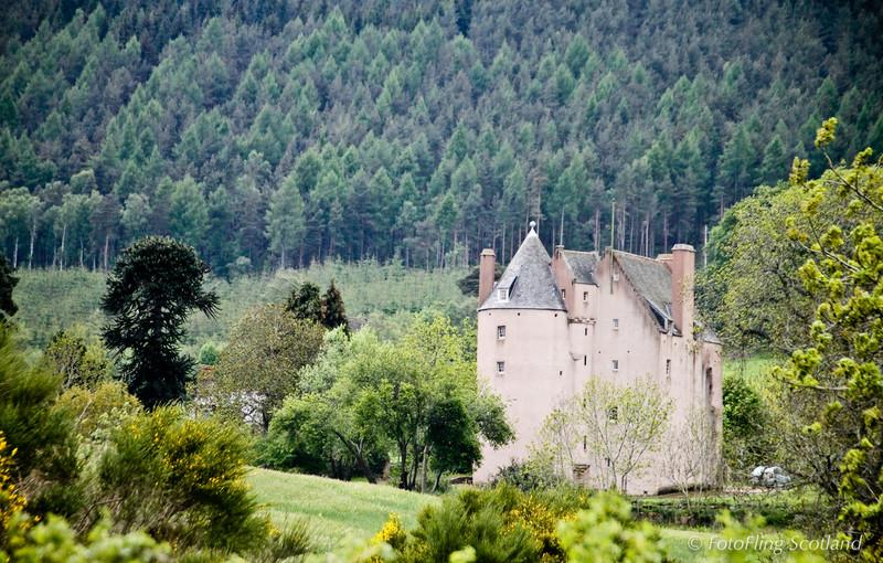 Pitfichie Castle, Aberdeenshire