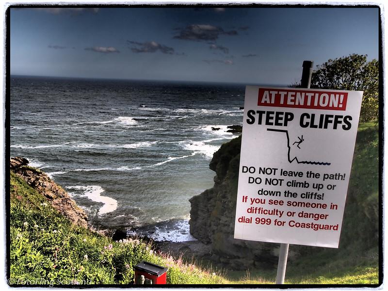 Danger !<br /> Portlethen, Aberdeenshire