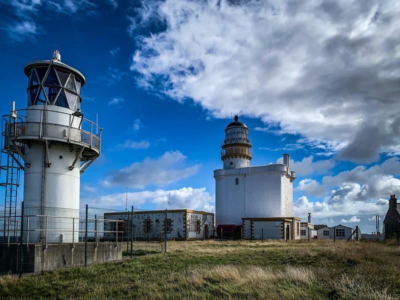 Kinnaird Head Lighthouse (Old & New)