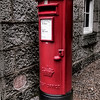 The Royal Postbox, Balmoral<br /> Balmoral Castle