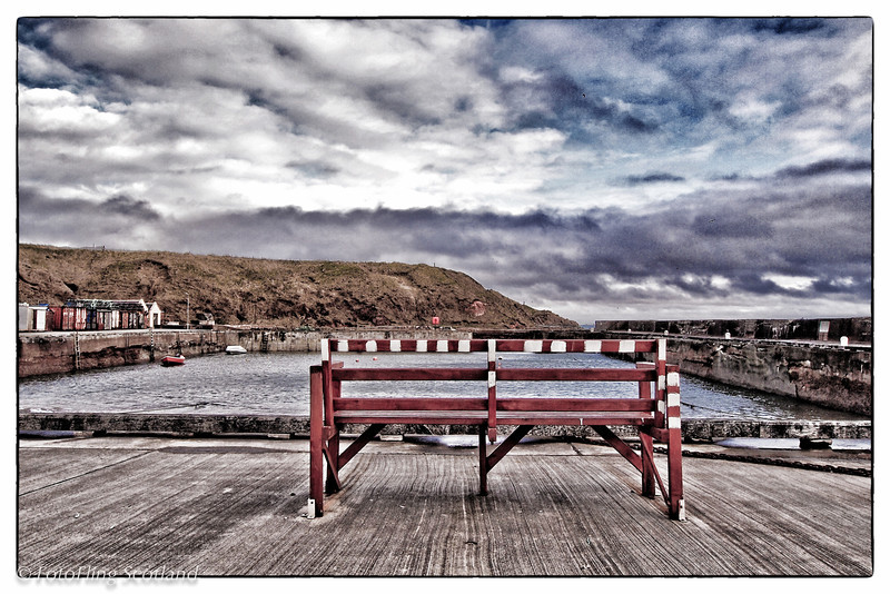 The Bench<br /> Cruden Bay, Aberdeenshire