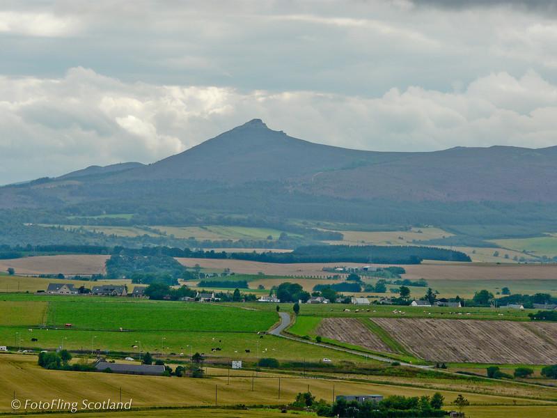 Rural Aberdeenshire<br /> View of Benachie