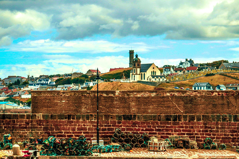 Macduff from Banff Harbour