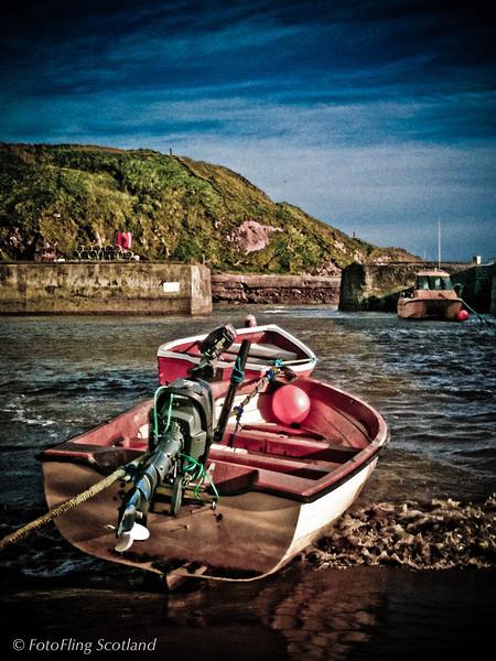 Boats at Cruden Bay<br /> Aberdeenshire