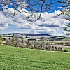 View from Craigievar