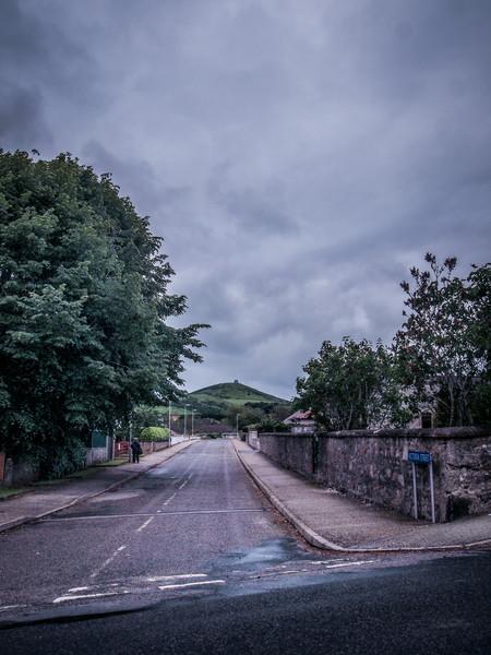 Dunideer Castle from Victoria Street, Insch
