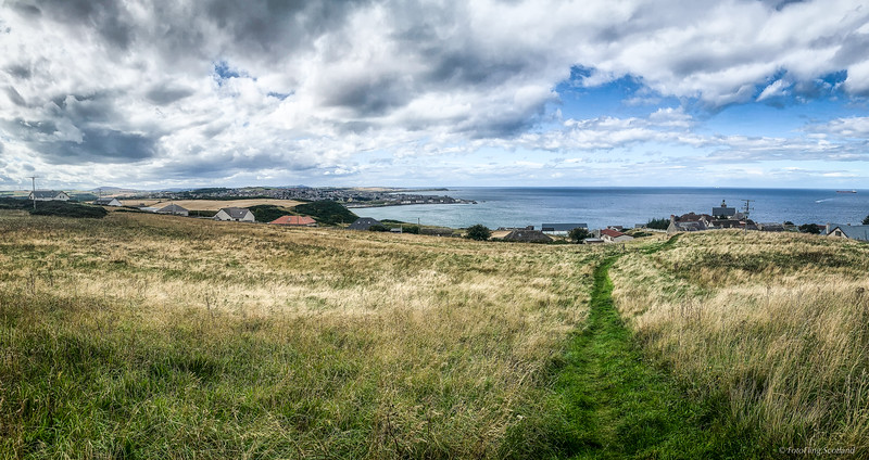 Banff & Macduff from Gellyhill