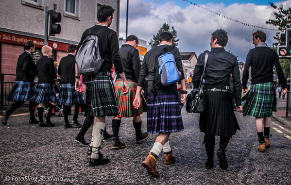 Dunoon get kilted up for annual Highland Games Cowal Gathering 2009