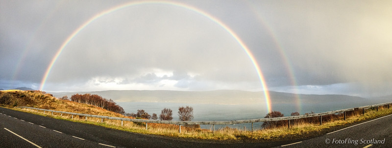 Double Rainbow - Mull