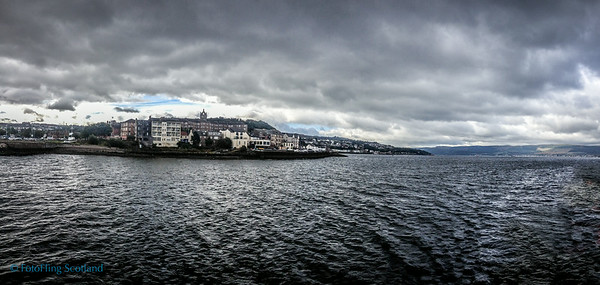 Firth of Clyde - Gourock to Dunoon