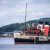 PS Waverly at Largs Pier