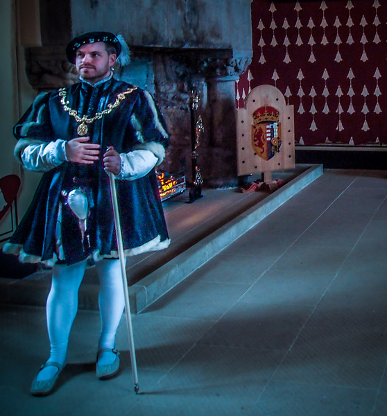 Courtier at Stirling Castle