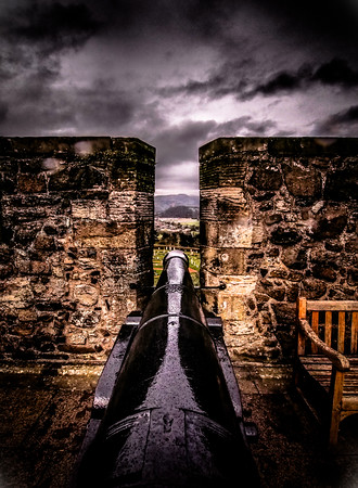 Stirling Castle Canon