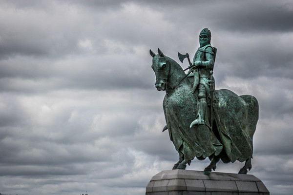 Statue of King Robert the Bruce, Bannockburn