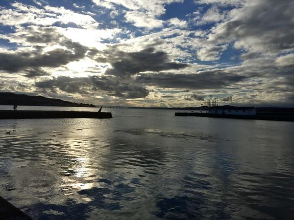 Tayport, Tay Bridge and River Tay