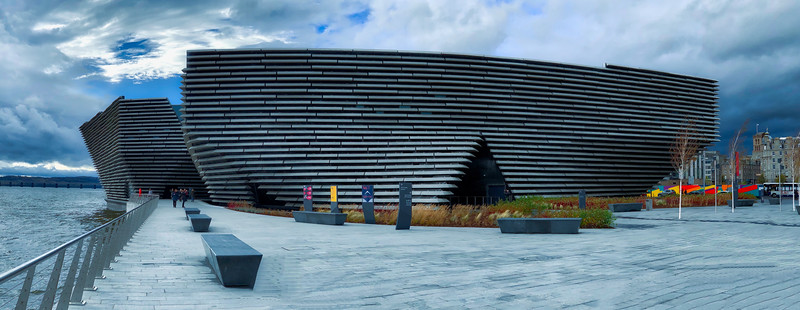 The V & A  Dundee