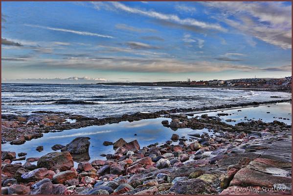 Beach at Dunbar, East Lothian