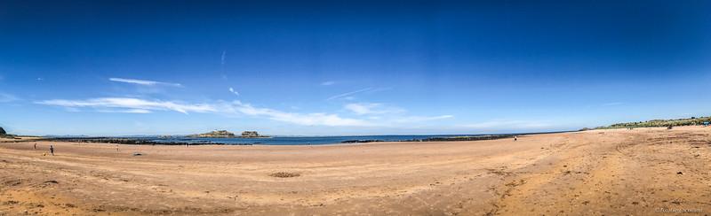 Yellowcraig Beach Panorama