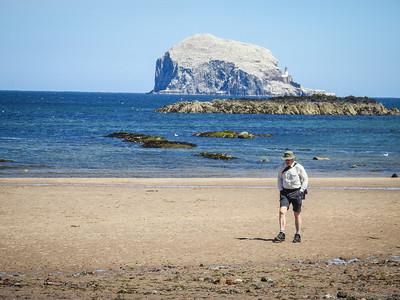 Beach Walker & The Bass Rock