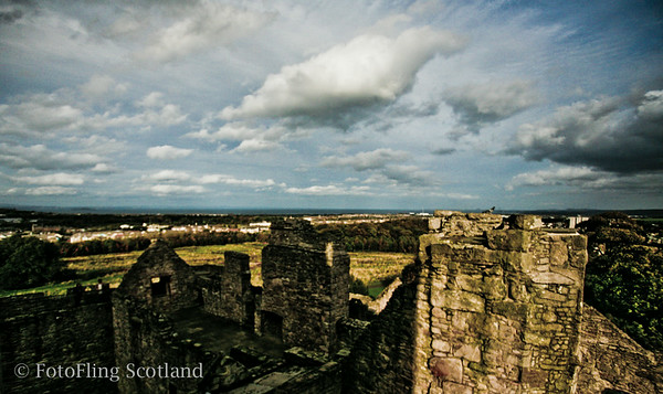 Craigmillar Castle & Firth of Forth