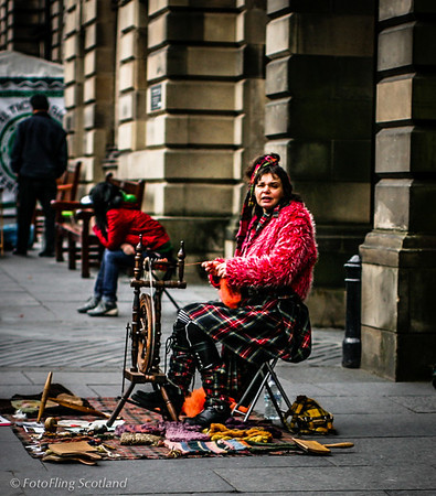 Weaving in Edinburgh