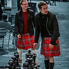 Kilted Chess Players in Grassmarket, Edinburgh