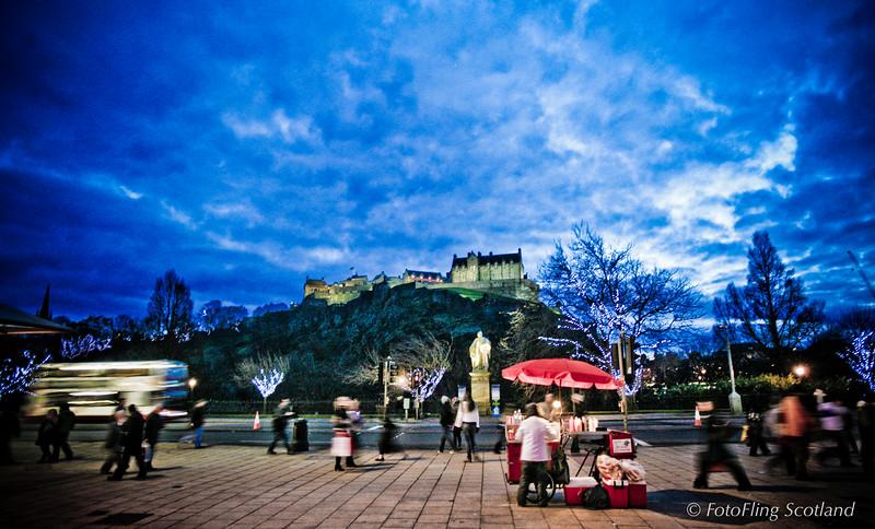 Festive Edinburgh
