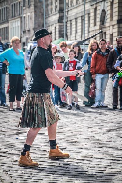 Juggling Kiltie