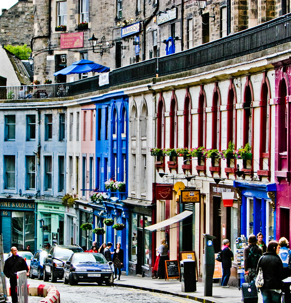 Colours of Victoria Street, Edinburgh