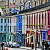 Colours of Victoria Street, Edinburgh