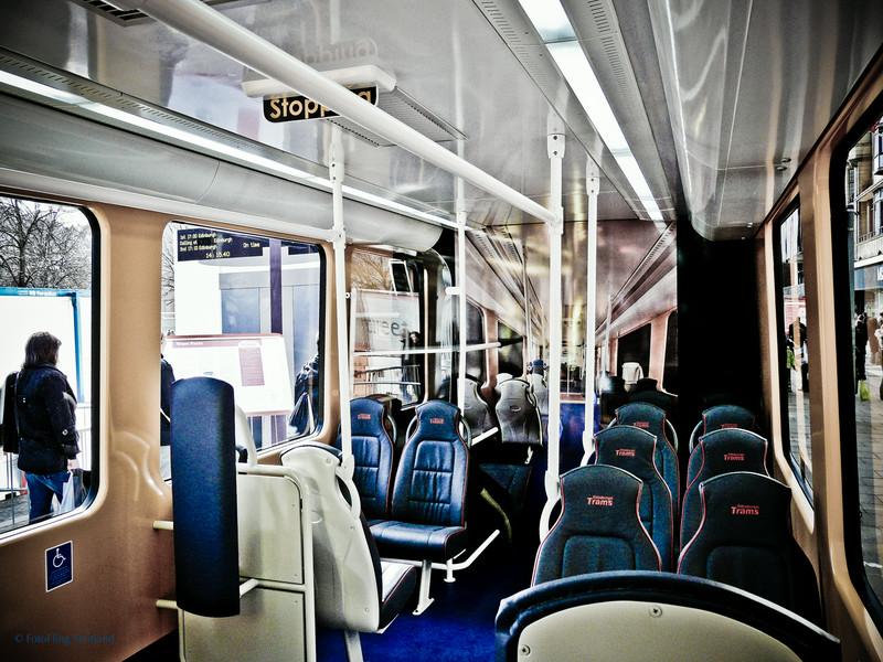 Edinburgh Tram - Interior