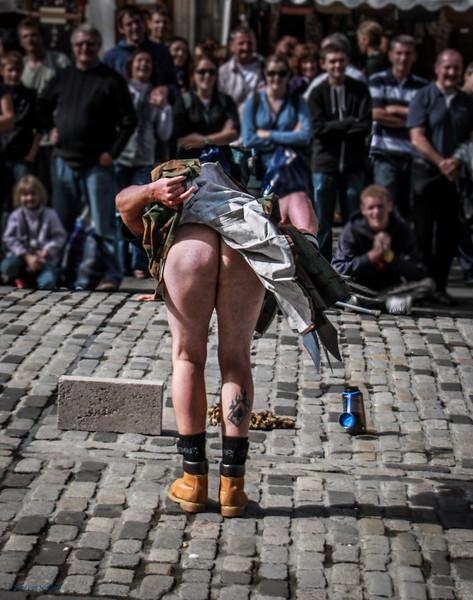 True Scotsman - Juggling Kiltie