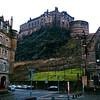 Edinburgh Castle from Grassmarket