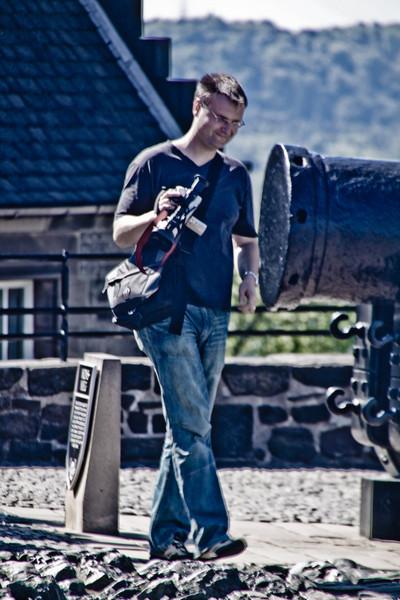 Edinburgh Castle Tourist