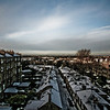 Edinburgh Winter Scene<br /> New Town of Edinburgh looking towards Fife