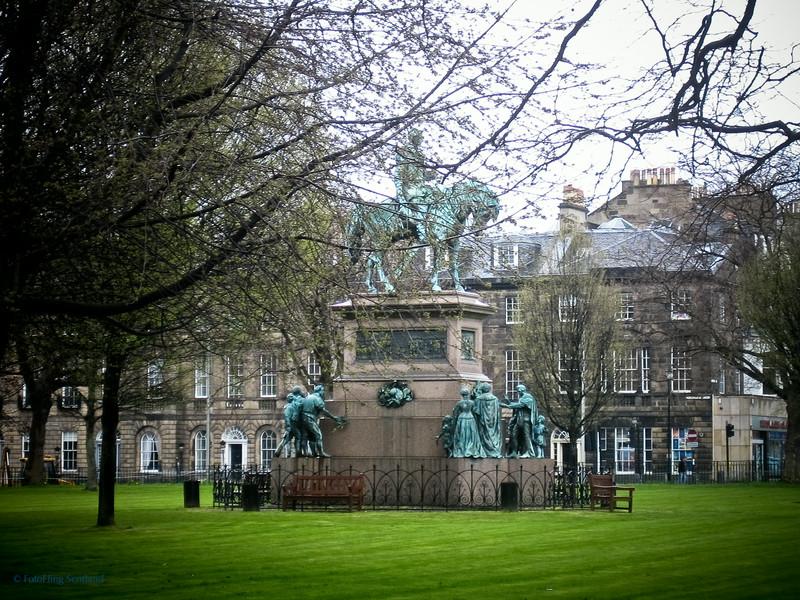 Prince Albert Memorial, Charlotte Square, Edinburgh
