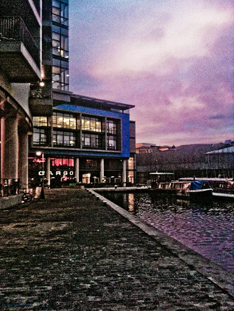 Edinburgh Quay at Sunset