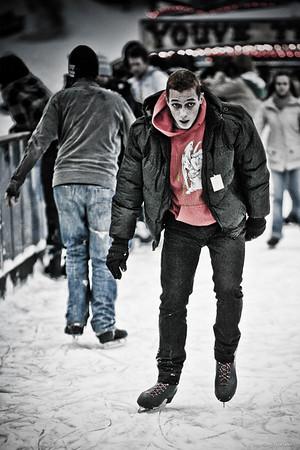 Skating in Winter Wonderland