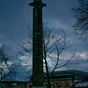 Melville Monument, St Andrew Square, Edinburgh<br /> The Melville Monument, in the centre of Edinburgh's St. Andrew Square, was erected in 1823 in memory of Henry Dundas, the Viscount Melville (1742 - 1811), otherwise known as the 'Uncrowned King of Scotland' such was his political power. It is perhaps not by accident that Dundas, sometimes called King Henry the 9th, looks down from his monument onto George Street, named in honour of the reigning King George III.<br /> <br /> Designed by William Burn (1789 - 1870) and modelled on Trajan's Column in Rome, the monument is 42.6m (140 feet) in height and weighs 1500 tons. It needed substantial foundations and its construction was therefore entrusted to the noted lighthouse engineer Robert Stevenson (1772 - 1850), grandfather of author Robert Louis Stevenson (1850-94). Stevenson used the world's first line balance crane which he had designed in conjunction with his carpenter, Francis Watt, to build the Bell Rock lighthouse.<br /> <br /> The statue at the top is the work of Francis Chantrey (1781-1841) and Robert Forrest (1790 - 1852). It was hoisted into position in 1828.<br /> <br /> The cost of the monument was met by contributions by officers and men of the Royal Navy (Dundas was, amongst other positions, Treasurer of the Navy).<br /> <br /> The Institute of Civil Engineers placed a plaque on the column in 2003 noting the historical importance of the structure. In 2008 the garden surrounding the monument was opened to the public for the first time in its long history.