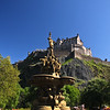 Edinburgh Castle from Princes Street Gardens