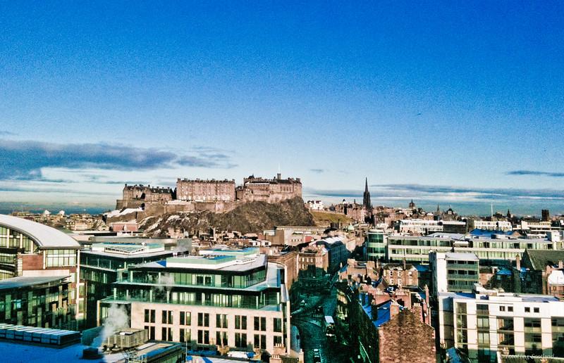 WInter in Edinburgh