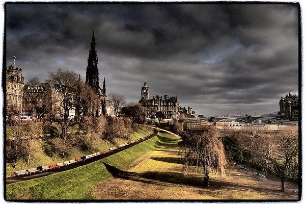 Princes Street Gardens East, Edinburgh
