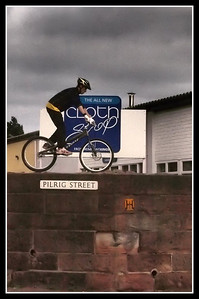 Wall Cycling in Pilrig