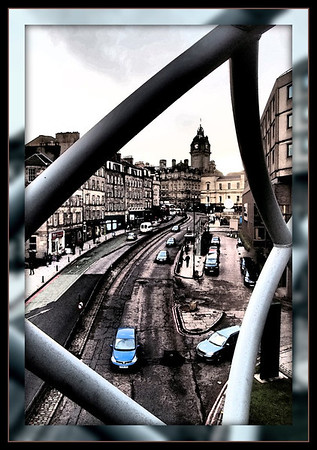 View of Leith Street, Edinburgh