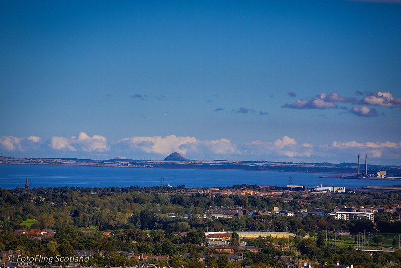 Bass Rock from Royal Observatory, Blackford Hill, Edinburgh
