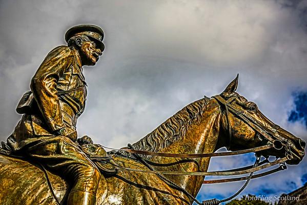 Earl Haig Statue, Edinburgh Castle