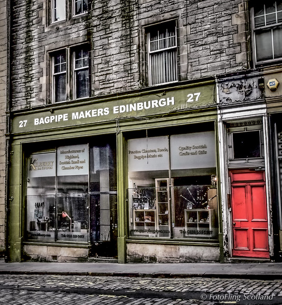 Bagpipes Made in Edinburgh