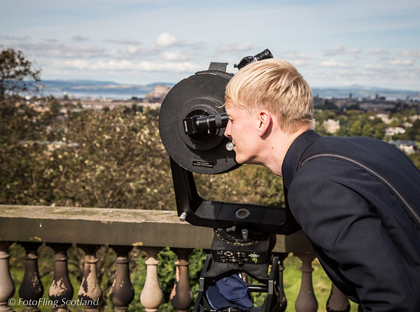 Telescope - Royal Observatory to Calton Hill
