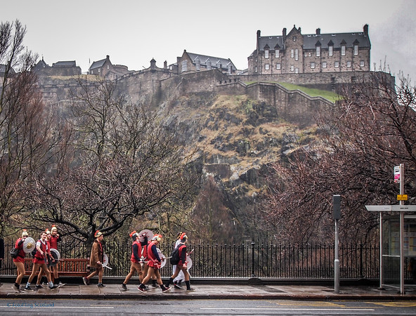 Romans in Edinburgh