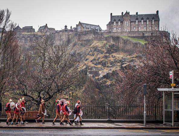 Romans in Edinburgh